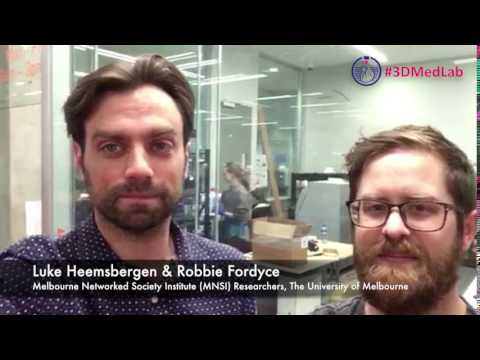 Dr Luke Heemsbergen and Dr Robbie Fordyce invite you to 3d Med Symposium 2017