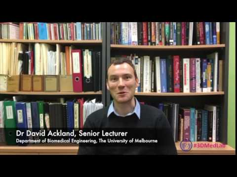Dr David Ackland invites you to the 3d Med Symposium 2017